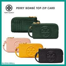 【Tory Burch】PERRY BOMBE TOP-ZIP CARD CASE♪大人気♪