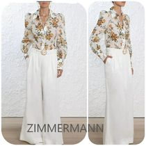 【ZIMMERMANN】FLORAL BLOUSE
