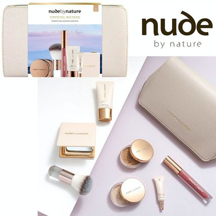 nude by nature メイクアップその他 自然派 お肌癒しコスメ Nude by Nature 豪華メイクギフトセット