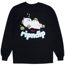 Ripndip Fat Hungry Baby L/S T-Shirt Black S Tシャツ