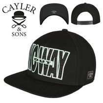 SALE★Wl No Way Out Cap【送込Cayler&Sons】文字/ロゴ★黒Mint