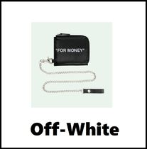 ★OFF-WHITE★Quote Chain Wallet★