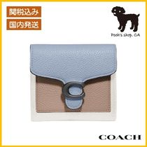 【COACH】Tabby Small Wallet In Colorblock◆国内発送◆