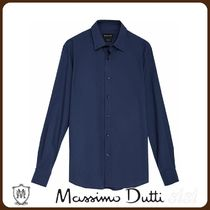 MassimoDutti♪SLIM FIT HOUNDSTOOTH COTTON SHIRT