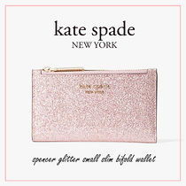 【国内発送】spencer glitter small slim bifold wallet セール