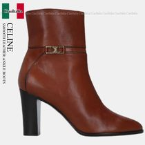 CELINE SMOOTH LEATHER ANKLE BOOTS