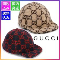 GUCCI【大人もOK】20AW GGロゴ キッズ ウールキャップ