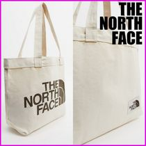 【THE NORTH FACE】BIGロゴ コットン トートバッグ 送料無料