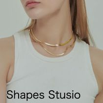 送料込 Shapes Stusio THE HERRINGBONE SNAKE ネックレス