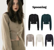 【SPOONING】PRIMARY CLUB WOOL CARDIGAN