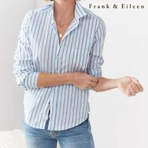 【Frank&Eileen】ストライプシャツ【BARRY Signature Crinkle】