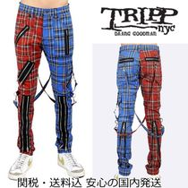 TRIPP NYC☆Madness チェック パンツ Blue/Red