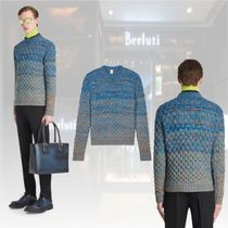 ★20 Winter★新作★Berluti★Cable Knit Sweater セーター