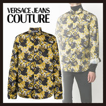【Versace Jeans Couture】バロックプリント シャツ 長袖
