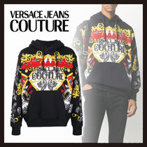 【Versace Jeans Couture】バロックプリント パーカー 長袖