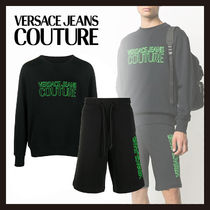 【Versace Jeans Couture】セットアップ ロゴ スウェット パンツ