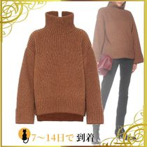 ◆関税込◆Oversized turtleneck sweater