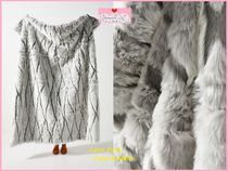 最安値保証*関税送料込【Anthro】Alpine Faux Fur Throw Blanket