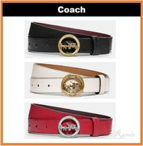 【Coach】Horse And Carriage Belt