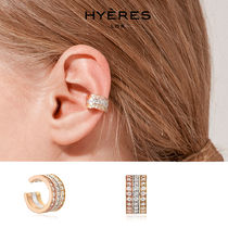 HYERES LOR(イエールロール) イヤリング [HYERES LOR] Etincelle Silver EarCuff Triple★パクソダム着用