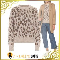 ◆関税込◆Esther leopard-print alpaca-blend sweater