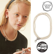 VINTAGE HOLLYWOOD Opera Two-way Pearl Necklace BBH608 追跡付