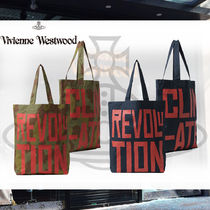 【Vivienne Westwood 】CLIMATE REVOLUTION メンズトートバッグ
