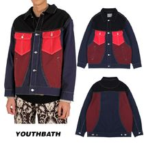 【YOUTHBATH】20fw 4 Colored Trucker Jacket