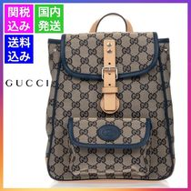 GUCCI【大人もOK】20AW GGロゴ キャンバス バックパック