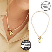VINTAGEHOLLYWOOD Open Your Heart PearlNecklace BBH616 追跡付
