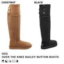 【限定/日本未入荷】UGG OVER THE KNEE BAILEY BUTTON ブーツ