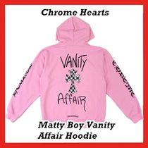 Chrome Hearts Matty Boy Vanity Affair Hoodie Pink Hooded