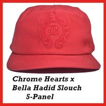 Chrome Hearts x Bella Hadid Slouch 5-Panel cap Red