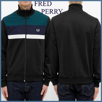 FRED PERRY/ *カラーブロック トラックジャケット* ☆関税送料込