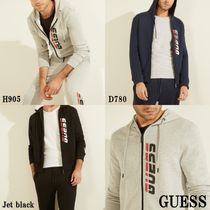 20AW*GUESS*Sport Logo Hooded Zip Jacket*ロゴ・フーディ♪