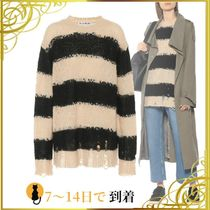 ◆関税込◆Oversized striped sweater