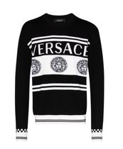 【VERSACE】SWEATER WITH LOGO