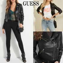 20AW*GUESS*Venom*人気のfaux-leather ライダージャケット♪