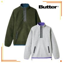 20AW【送料無料】Butter Goods◆Glacier Sherpa 1/4ジップ