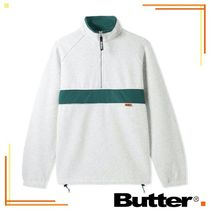 20AW【送料無料】Butter Goods◆アクシス1/4ジップ【国内発送】