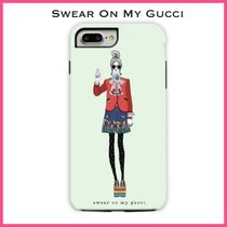 VERRIER HANDCRAFTED SWEAR ON MY GUCCI IPHONE CASE