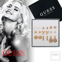 【GUESS】プレゼントに最適☆エレガントピアス☆9点セット