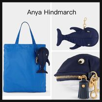 【Anya Hindmarch】Whale Charm Shopper バッグ チャーム くじら
