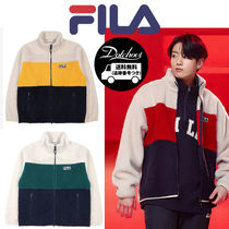 FILA palette boa fleece jacket YJ583 追跡付