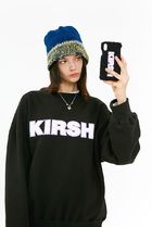 [ KIRSH ] FLEECE LOGO IPHONE CASE JA [BLACK]
