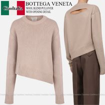 Bottega veneta  WOOL BLEND PULLOVER WITH OPENING DETAIL