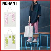 NOHANT(ノアン) エコバッグ ◆NOHANT◆MADE IN SEOUL ECO BAG 2Colors◆日本未入荷◆