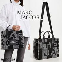 【MARC JACOBS】Small Traveler Tote◆ツイードトートバッグ