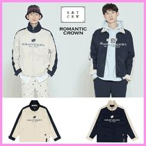 ☆ROMANTIC CROWN☆LOGO COTTON WINDBREAKER ウィンドブレーカー