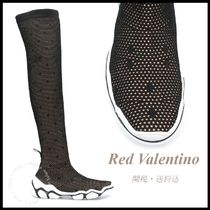 *RED VALENTINO*Knit Boot Sneakers 関税/送料込